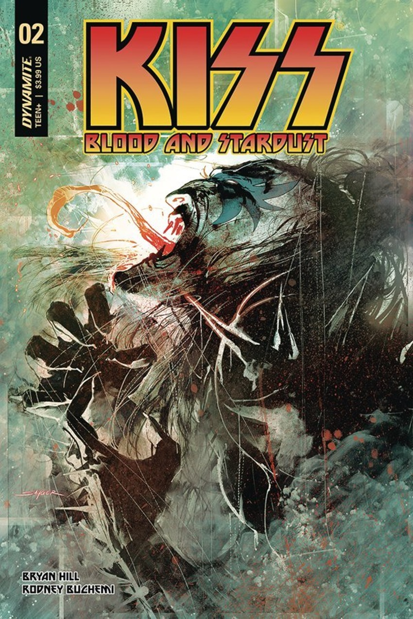Kiss Blood And Stardust #2