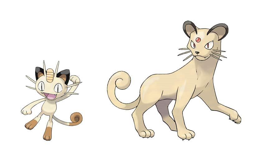 Meowth-evo