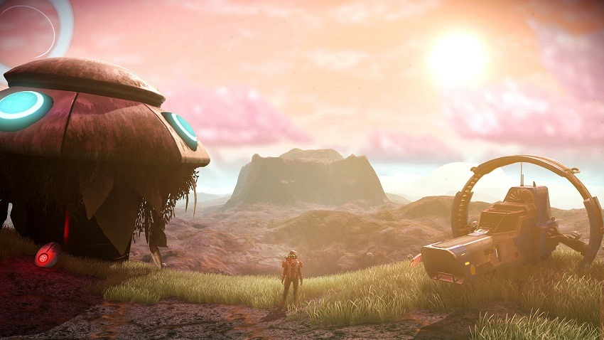 No Man's Sky Visions is out today