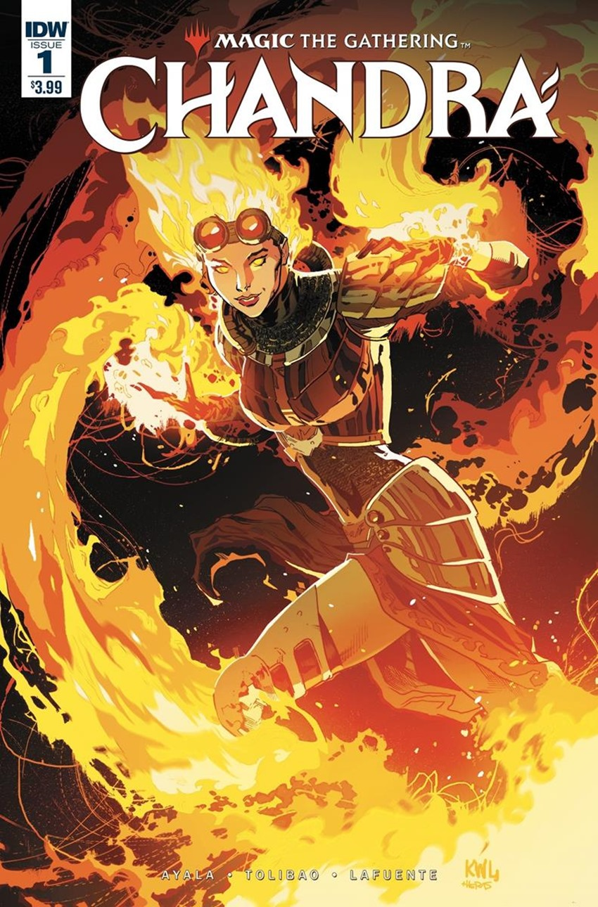 Magic The Gathering - Chandra #1