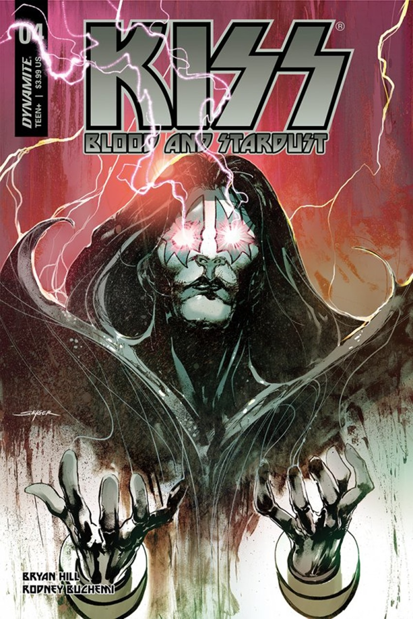 Kiss Blood And Stardust #4