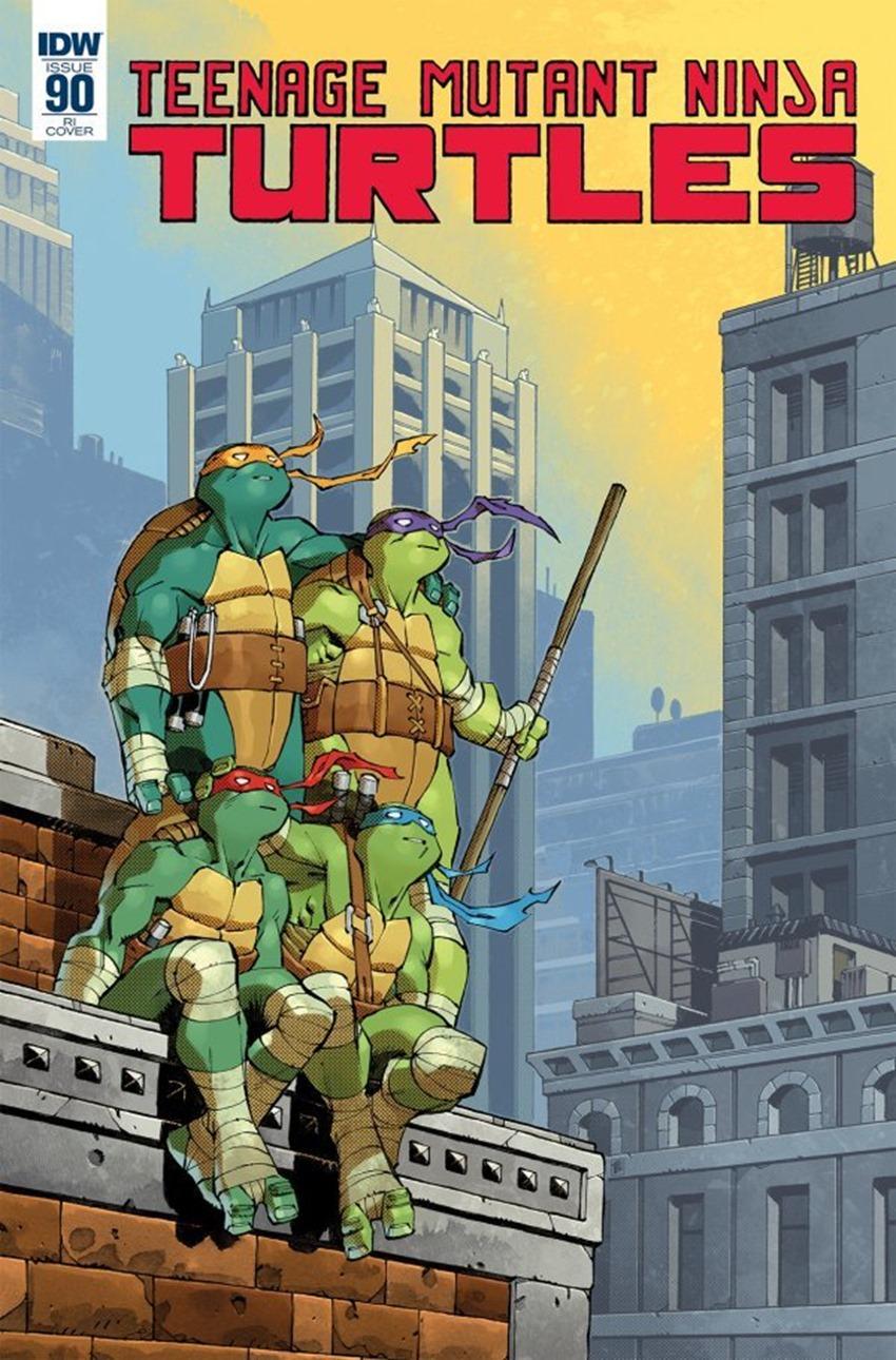Teenage Mutant Ninja Turtles #90