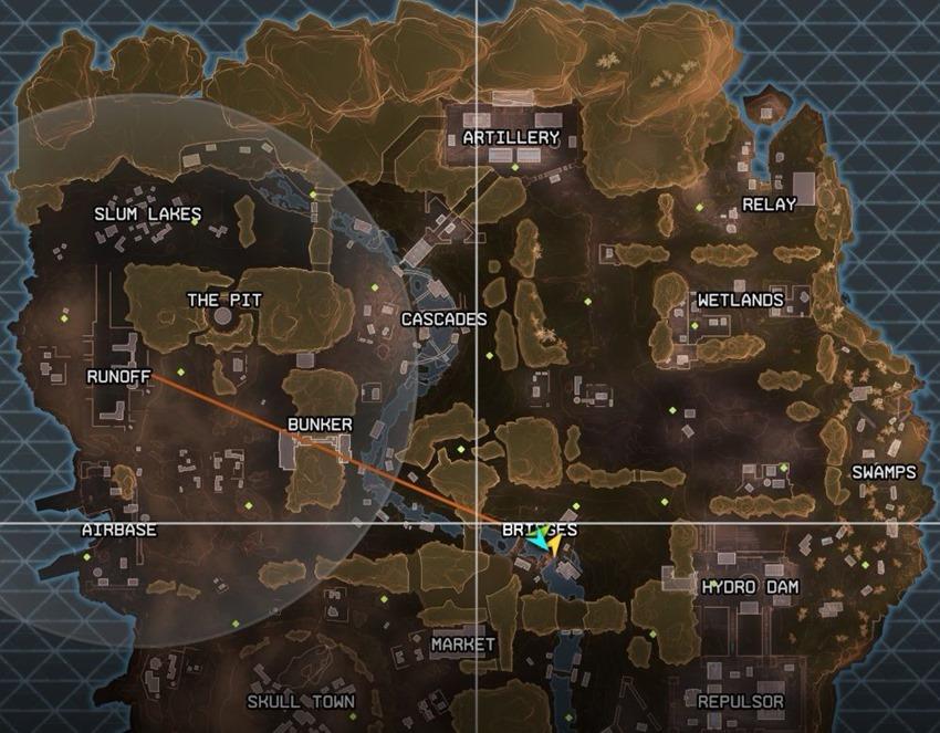 Apex legends map