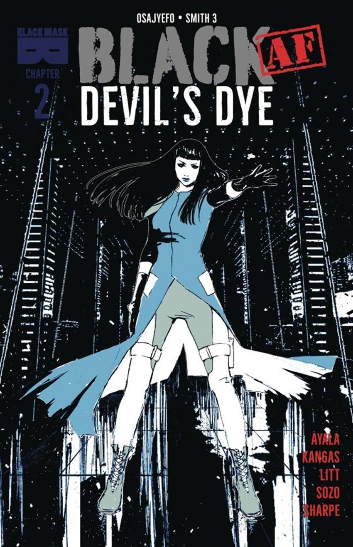 Black Af Devil's Dye #2
