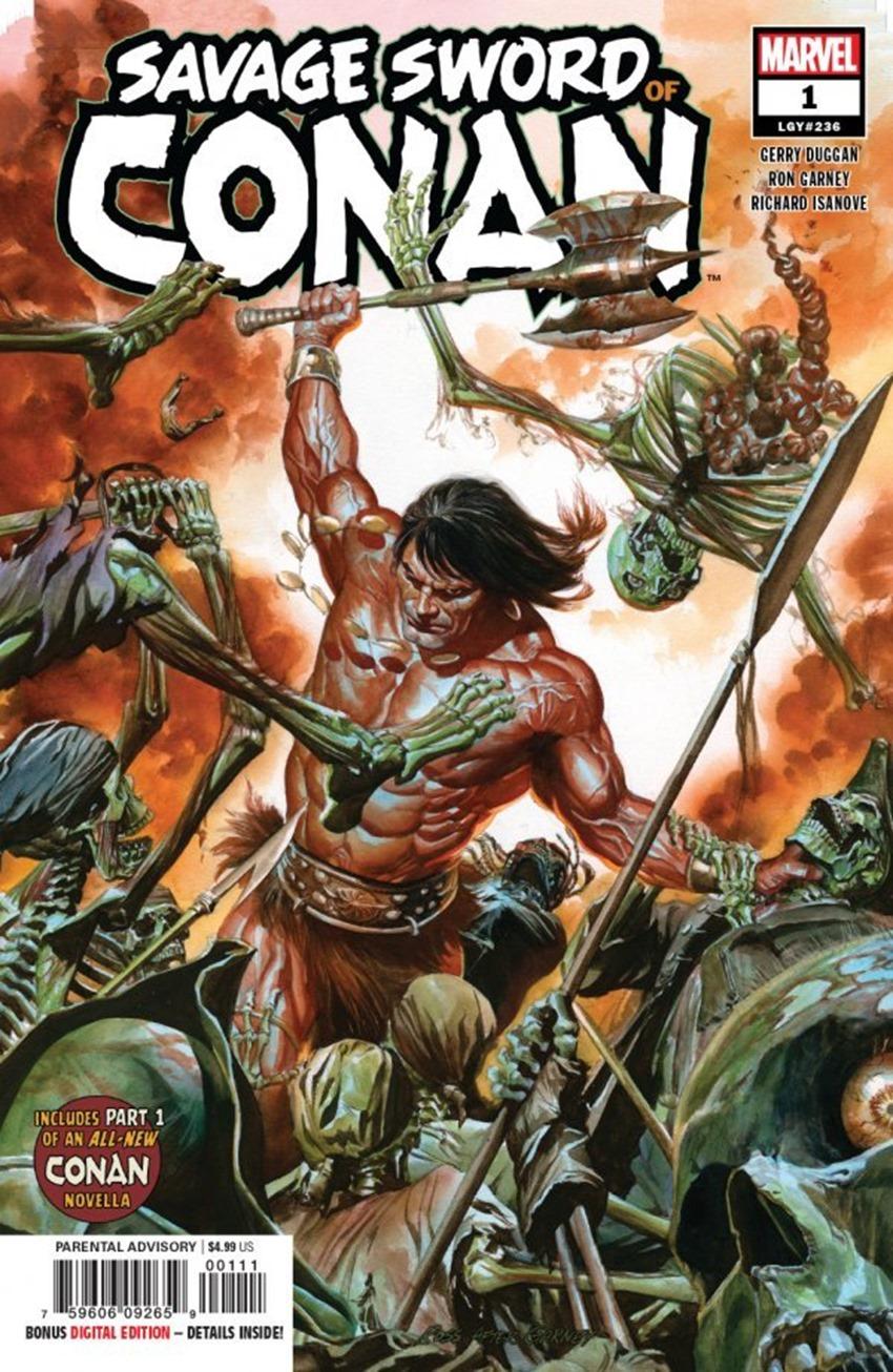 Savage Sword of Conan #1