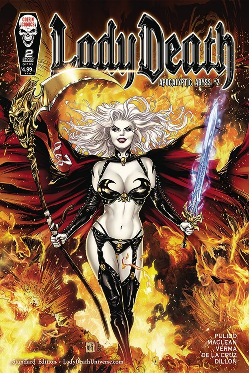Lady Death Apocalyptic Abyss #2