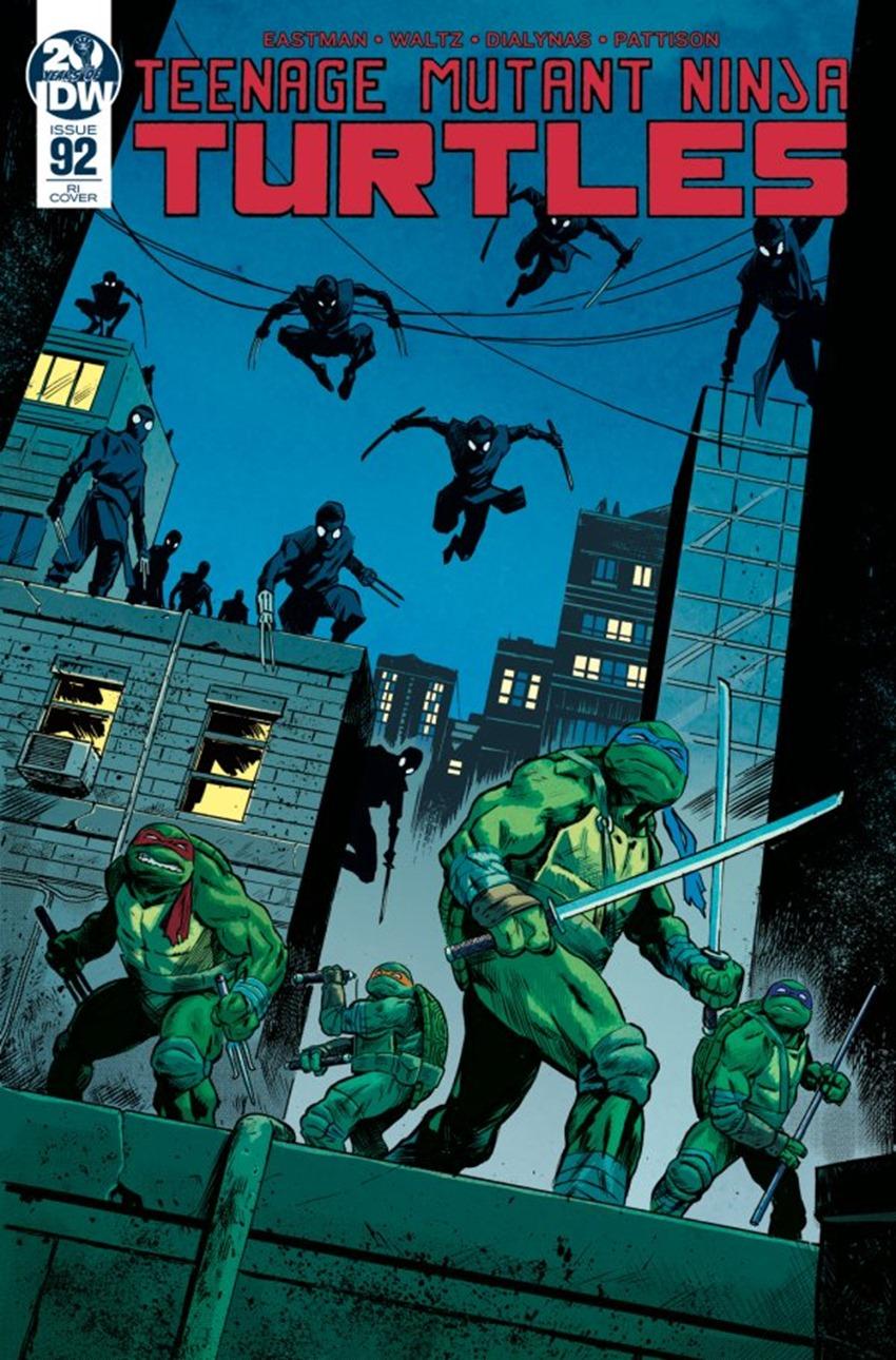 Teenage Mutant Ninja Turtles #92