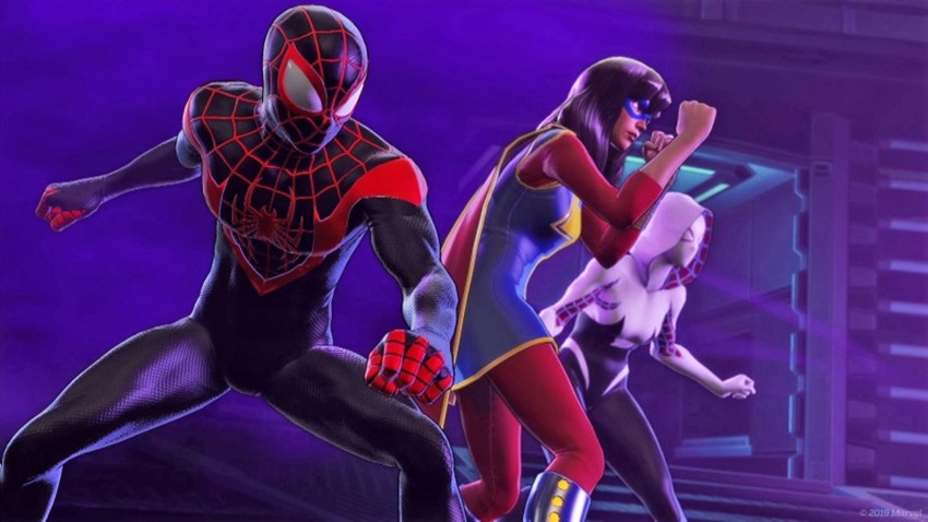 Marvel Ultimate Alliance 3 Spider