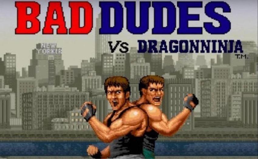 Bad Dudes Vs. DragonNinja