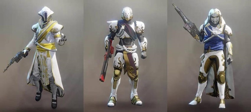 Destiny 2's Solstice of Heroes armour