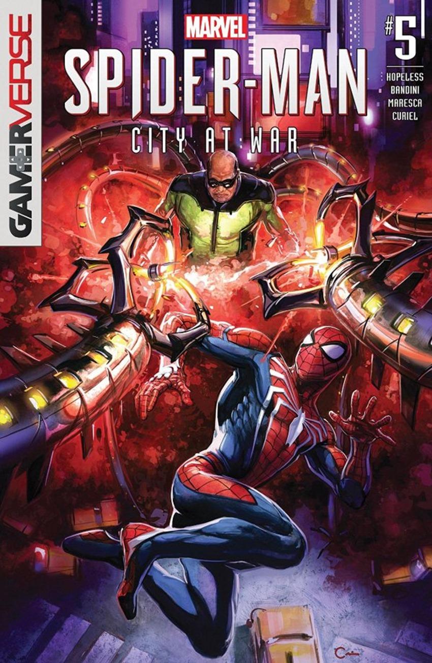 Marvel's Spider-Man City At War #5