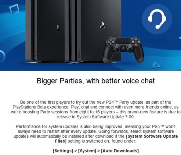 PS4chat
