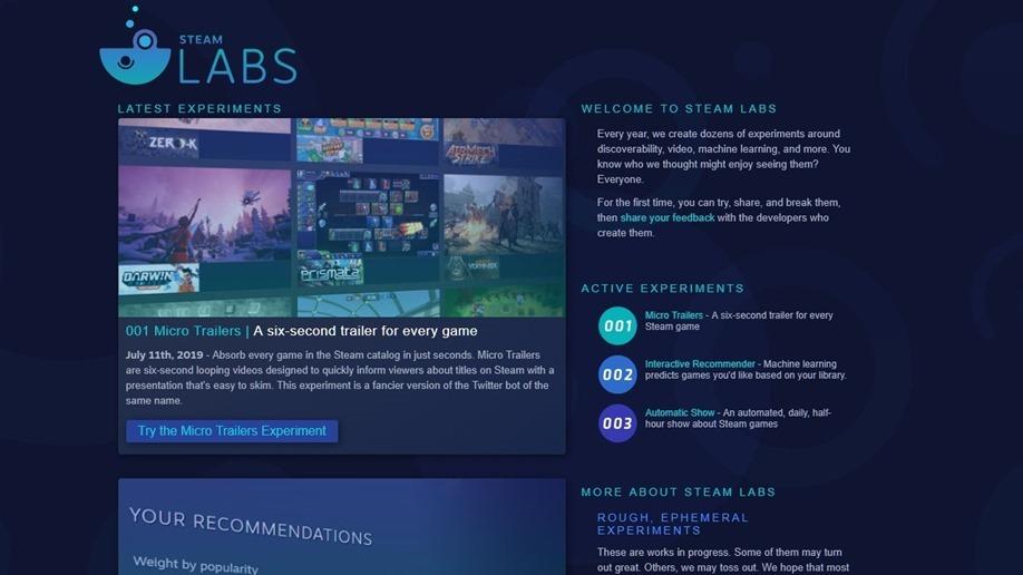Steam-Labs