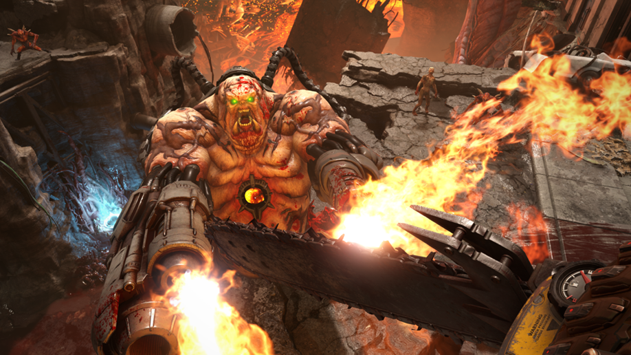 DOOM Eternal wants to turn its bloody singleplayer into a memorable multiplayer social experience