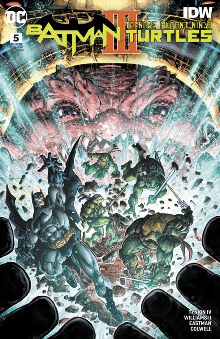 Batman Teenage Mutant Ninja Turtles III #5