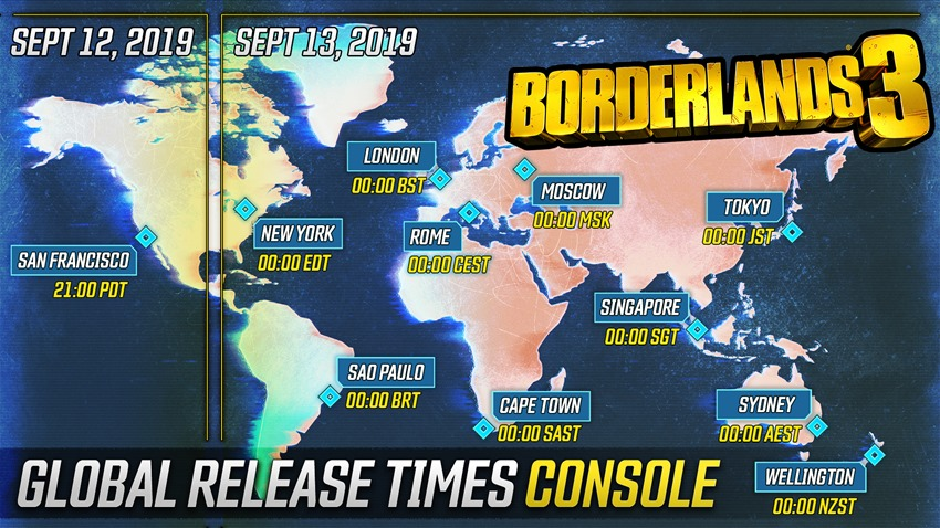 Borderlands roll out (1)