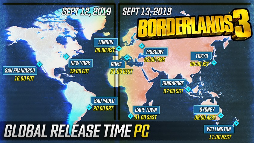 Borderlands roll out (2)