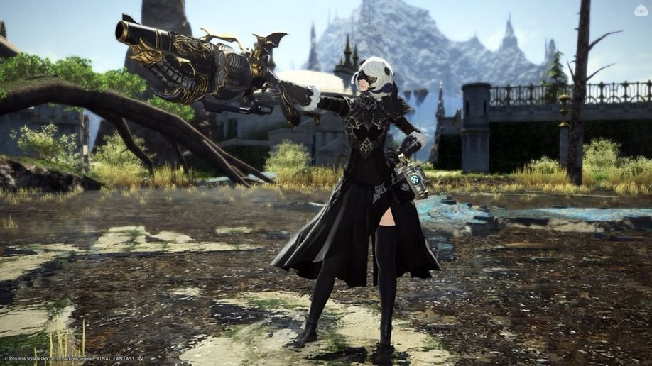 Nier Automata will be making its way into Final Fantasy XIV in October