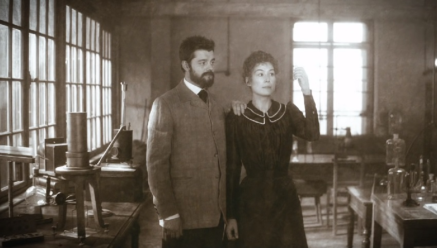 Rosamund Pike changes the world in the surreal Marie Curie biopic Radioactive