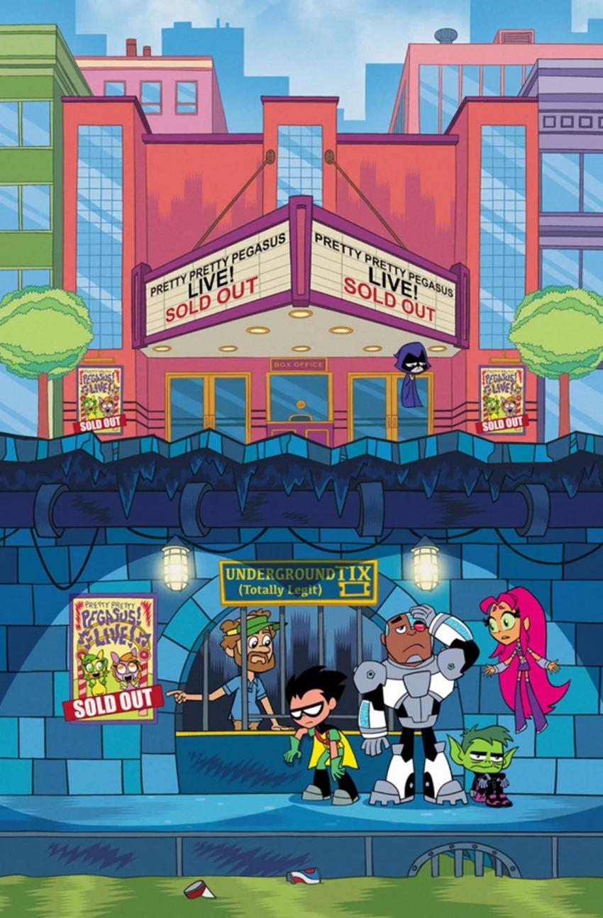 Teen Titans Go #36