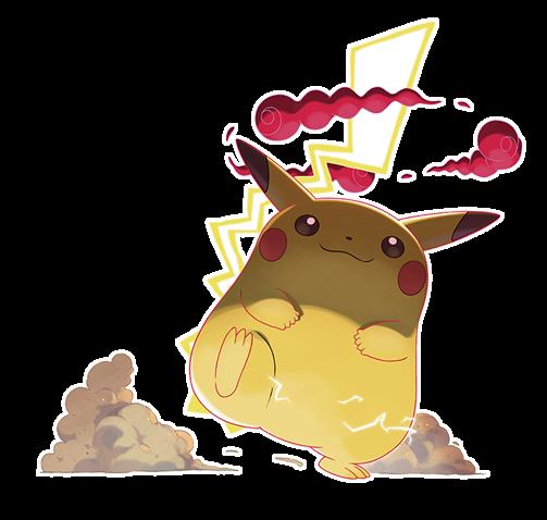 Gigantamax Pikachu Marketing Art