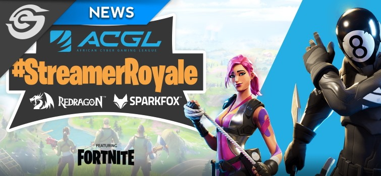 Stand to win R15k with Fortnite StreamerRoyale Banner