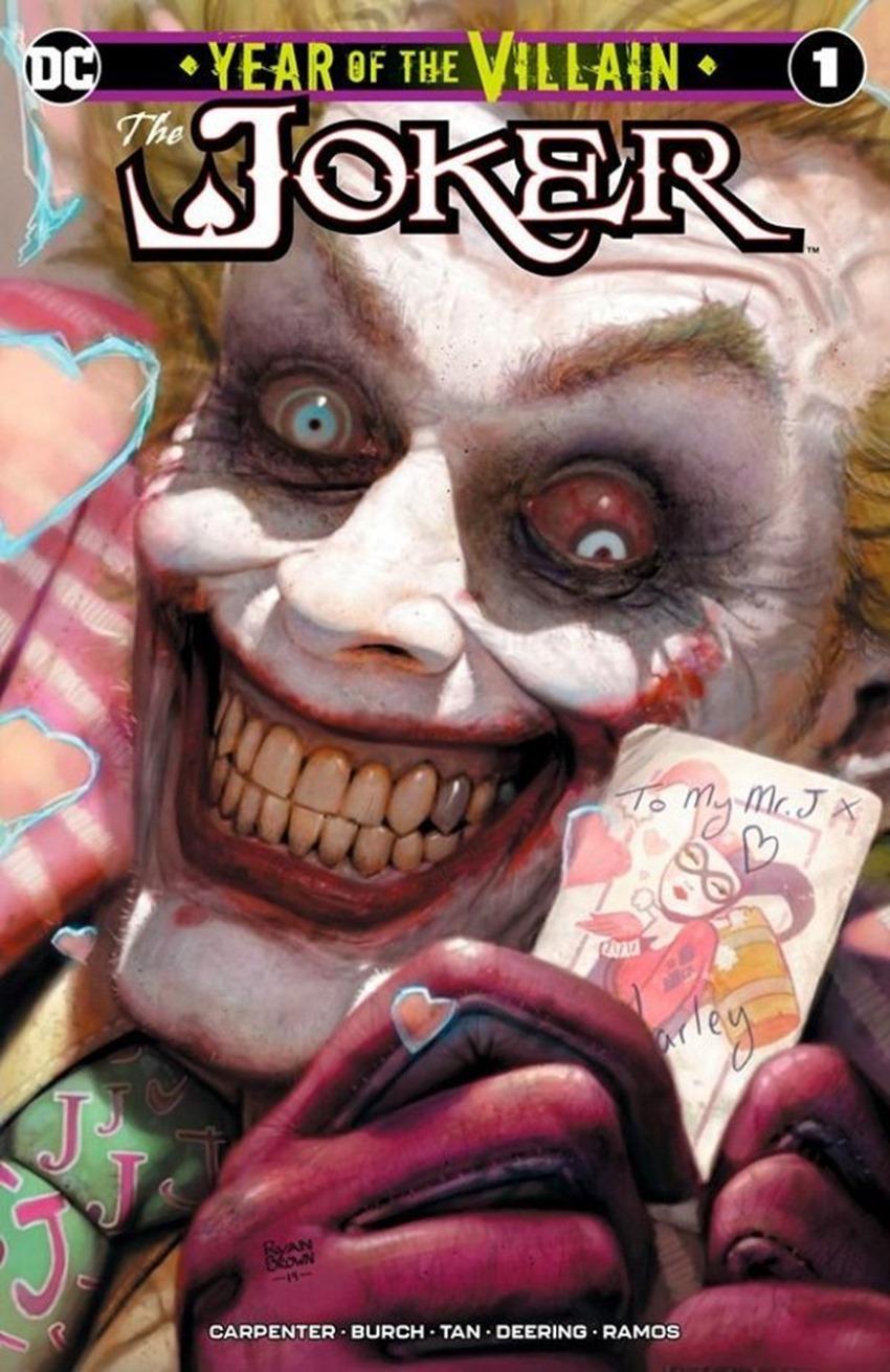 The Joker Year of the Villain #1