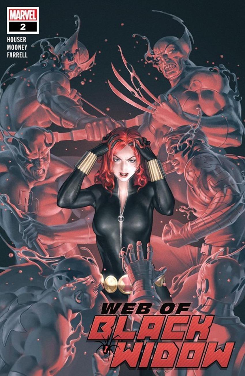 The Web Of Black Widow #2