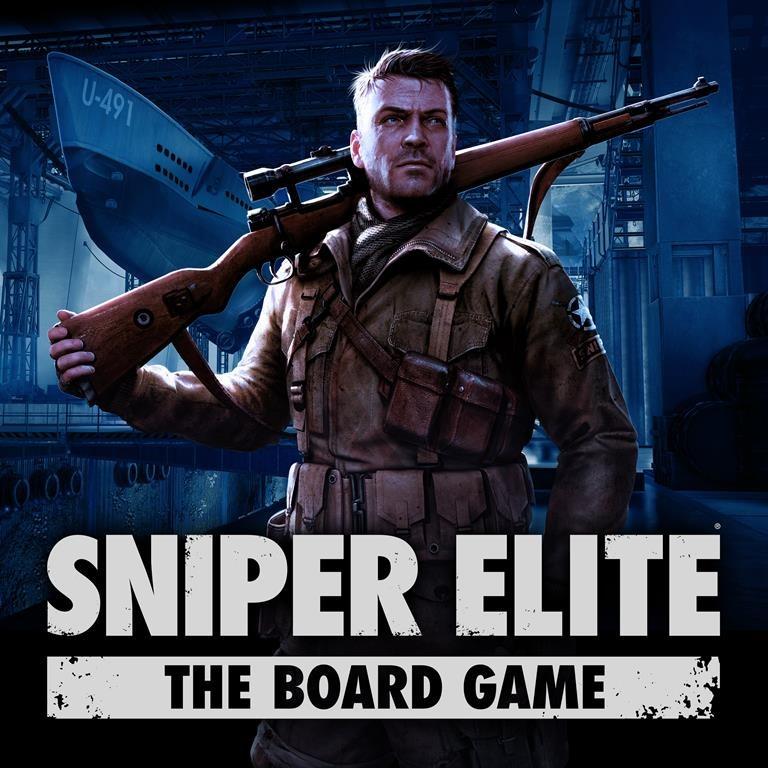 Sniper Elite The Board Game - Box Art