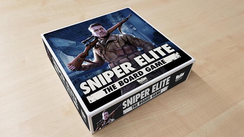 Sniper Elite The Board Game - Mock Up
