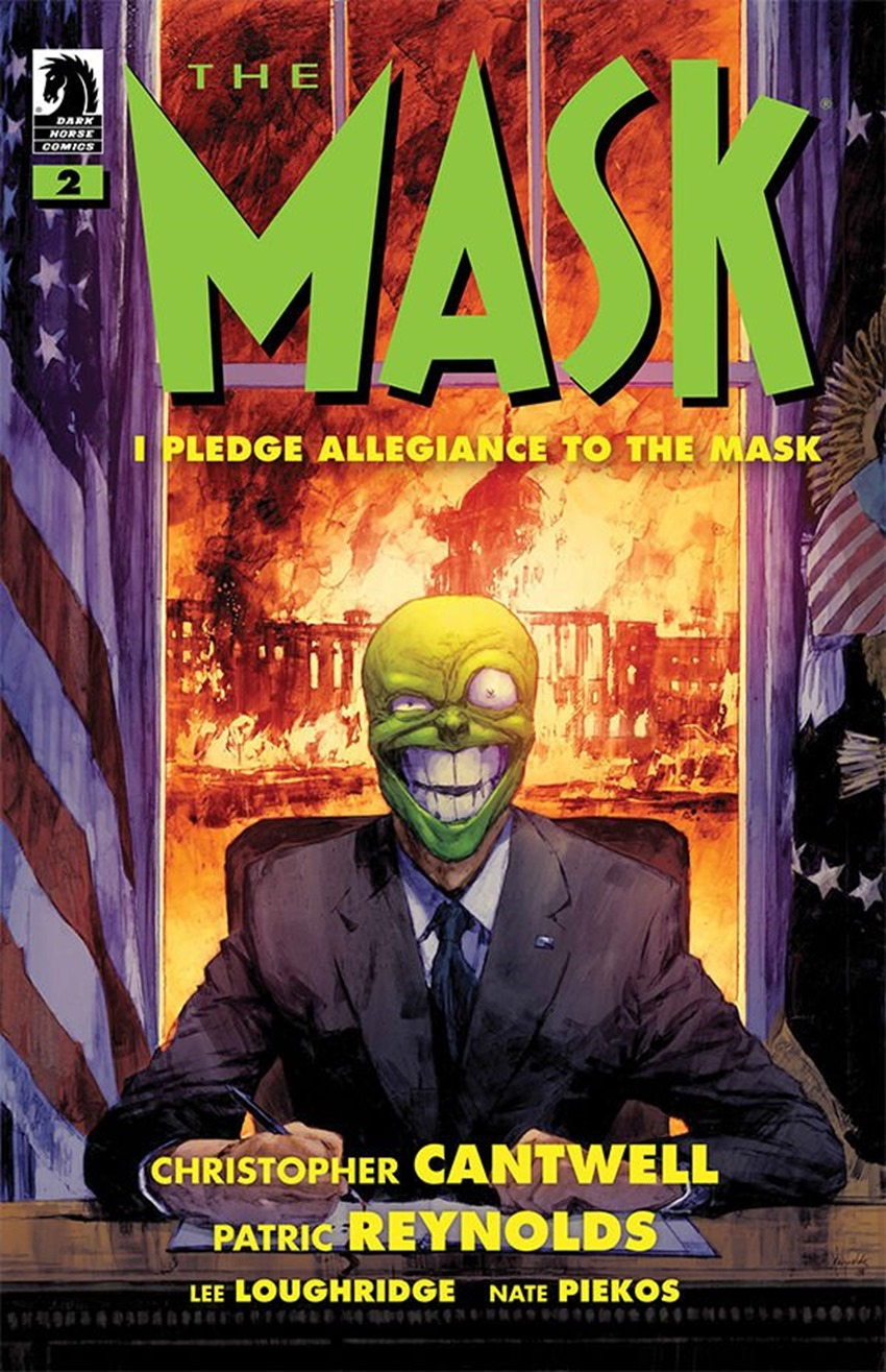The Mask I Pledge Allegiance to the Mask #2
