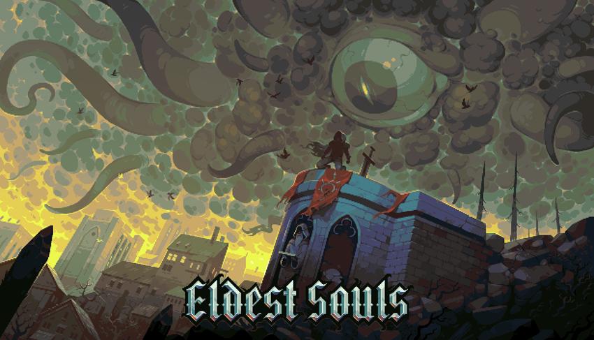 Eldest Souls - Key Art