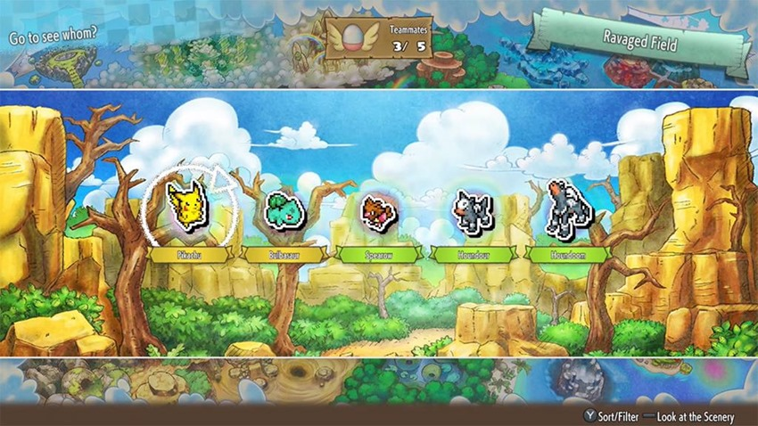 Pokemon Mystery Dungeon Rescue DX (1)
