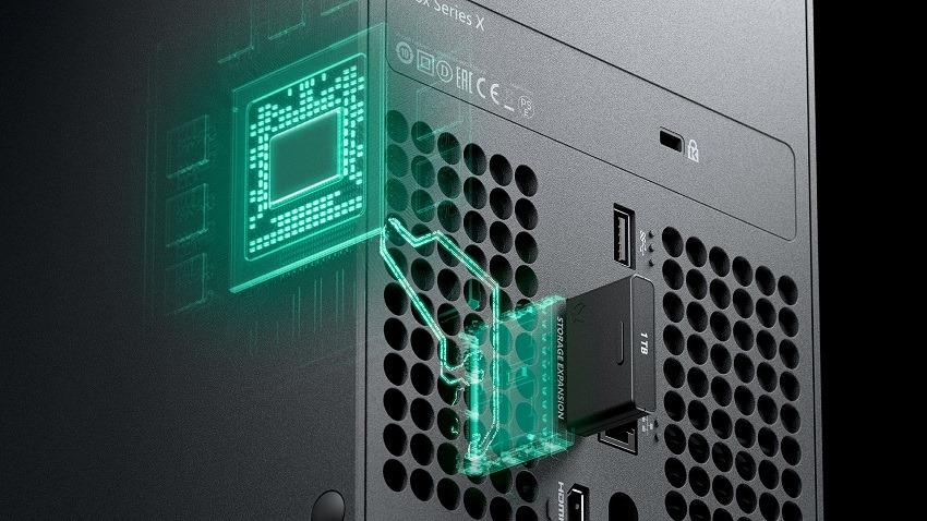 Xbox storage card