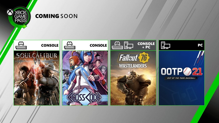 Game Pass July