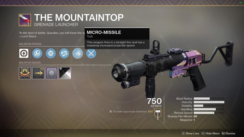 D2 Weapons (2)