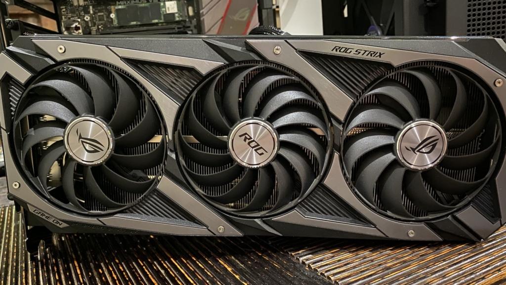 Asus RTX 3080 GPU Photo