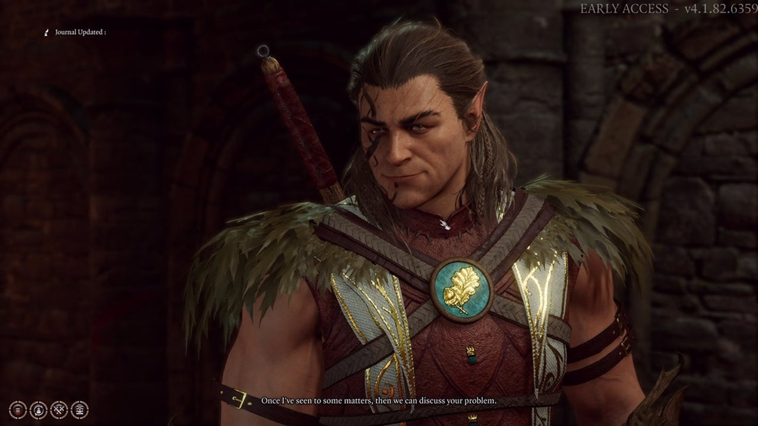 Baldurs-Gate-3-Rescuing-the-Druid-Halsin