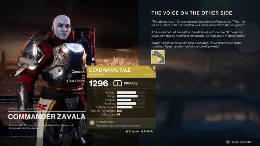 Destiny 2 Dead Man's Tale (1)