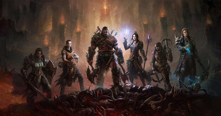 Diablo immortal key art
