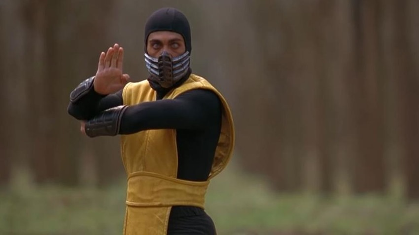 Mortal Kombat 1995 Scorpion