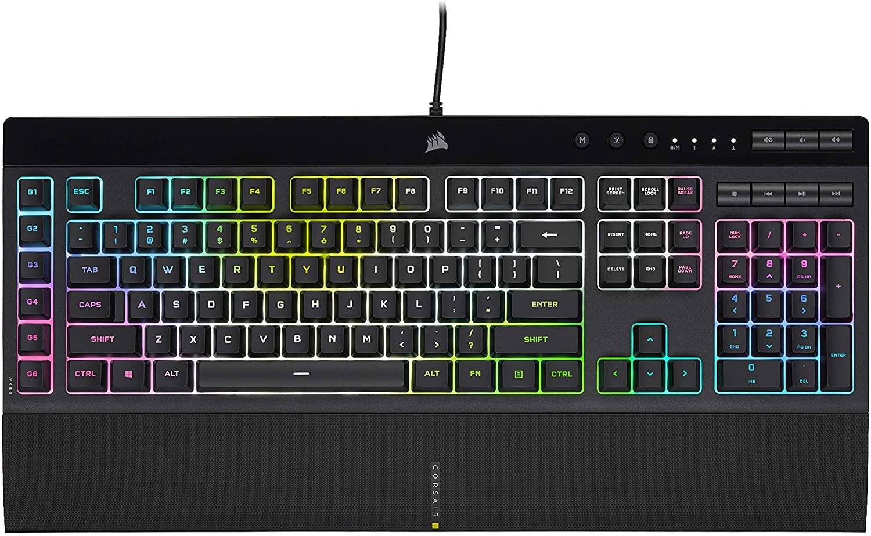 CORSAIR K55 RGB PRO XT is our best gaming keyboard under 100 dollars