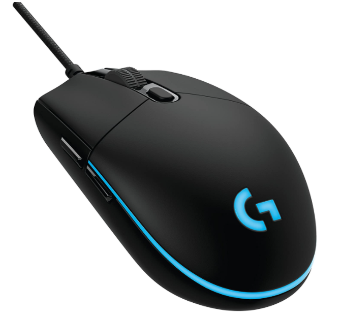 Logitech gaming mouse for small hands
