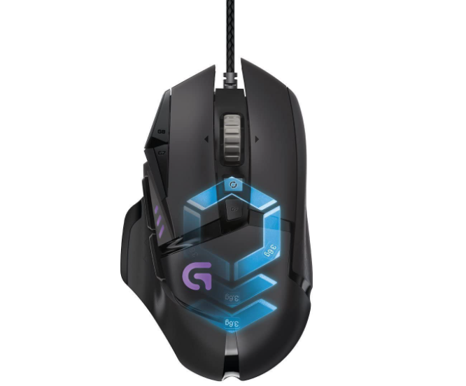 Logitech's gaming mice for small hands