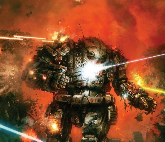 battletech robot