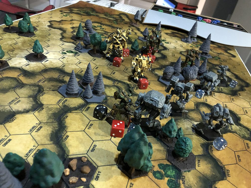 battletech table top gaming