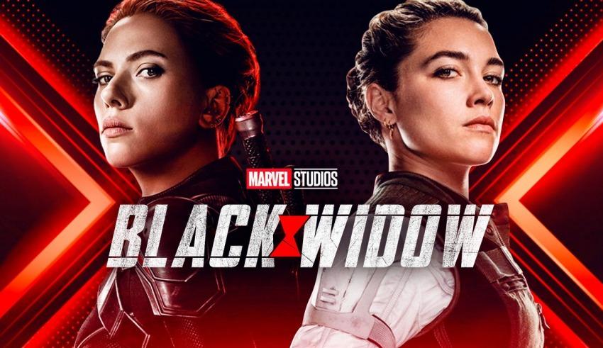 black widow movie poster