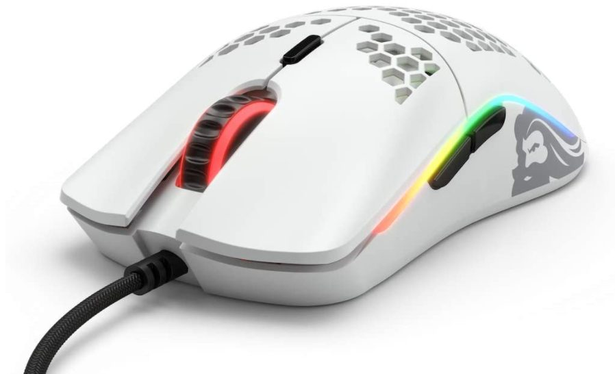 Glorious Model O Gaming Mouse which is one of the lightest gaming mouse products
