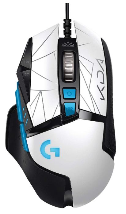 Logitech G502 Hero High-Performance Wired Gaming Mouse for big hands