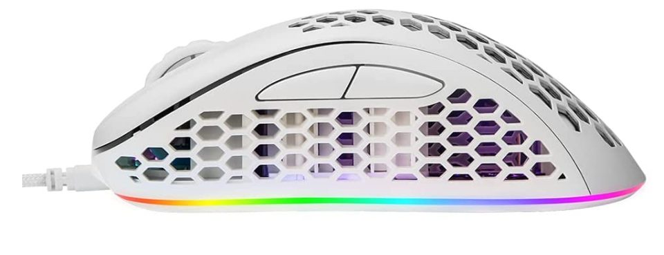EQEOVGA D10 Honeycomb Gaming Mouse